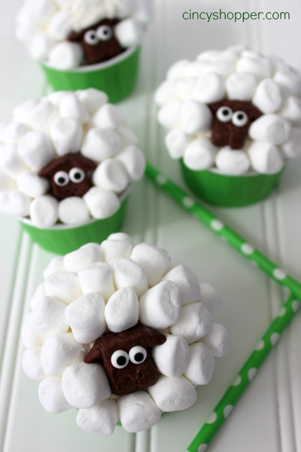 Sheep-Easter-Cupcakes