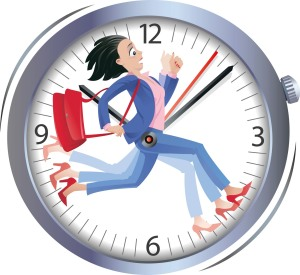 learning-english-with-michelle-time-on-your-hands-idioms-of-time-StFytV-clipart