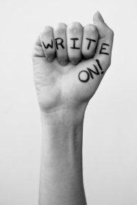 write on